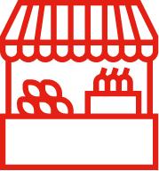 Marktlocaties den hollander kaas